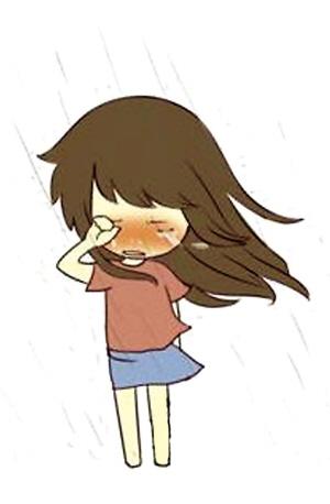 卡通可爱图片大哭